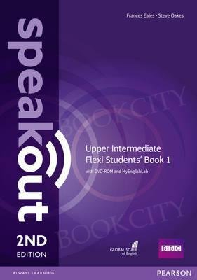 Speakout Upper-Intermediate (2nd edition) Student's Book Flexi 1 with MyEnglishLab