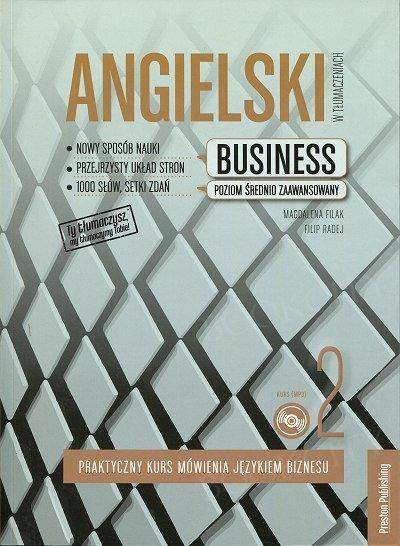 Angielski w tłumaczeniach. Business 2 Książka + CD mp3