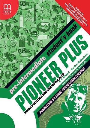 Pioneer Plus Pre-Intermediate Student's Book + CD (Nowa Podstawa 2019, po ośmioletniej podstawówce)