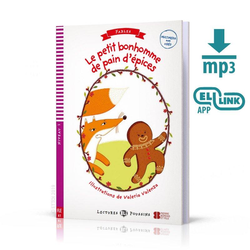 Le petit bonhomme de pain d'epices Książka + audio online