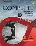 Complete Preliminary for Schools książka nauczyciela