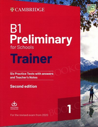 B1 Preliminary for Schools Trainer 1 for the Revised Exam from 2020 Six Practice Tests without Answers with Downloadable Audio Książka