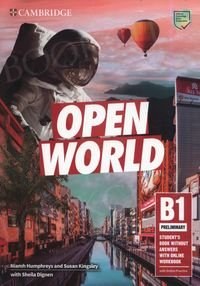 Open World B1 Preliminary Student's Book without Answers with Online Workbook