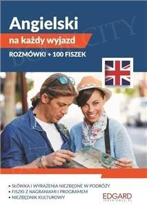 Pakiet: Angielski na każdy wyjazd. Rozmówki + 100 fiszek Książka + fiszki