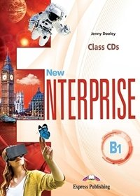 New Enterprise B1 Class Audio CDs (set of 3)