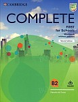Complete First for Schools B2 Workbook without Answers with Audio Download