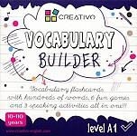 Vocabulary builder Level A1 Karty językowe