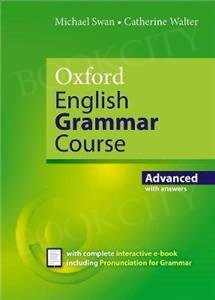Oxford English Grammar Course Advanced Book with key and Interactive e-book