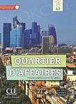 Quartier d'affaires Niveau A2 podręcznik