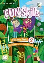 Fun Skills Level 2 Starters Student's Book with Home Booklet and Mini Trainer with Downloadable Audio