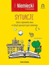 Niemiecki w tłumaczeniach. Sytuacje Książka + mp3 online