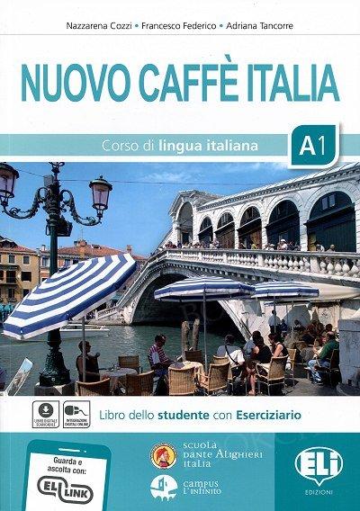 Nuovo Caffè Italia A1 Podręcznik + ćwiczenia + CD + e-podręcznik