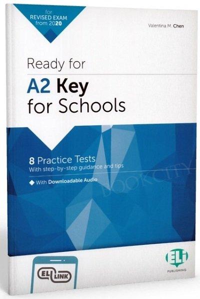 Ready for A2 Key for Schools Książka + mp3 online