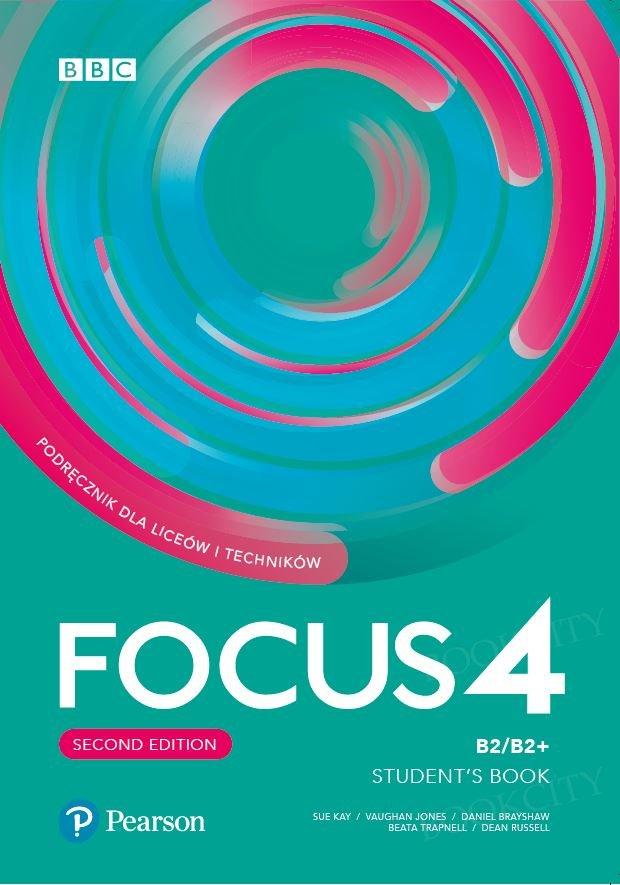 Focus 4 Second Edition Student's Book + kod (Digital Resources + Interactive eBook + MyEnglishLab)