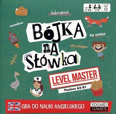 Bójka na słówka Level Master Gra do nauki angielskiego