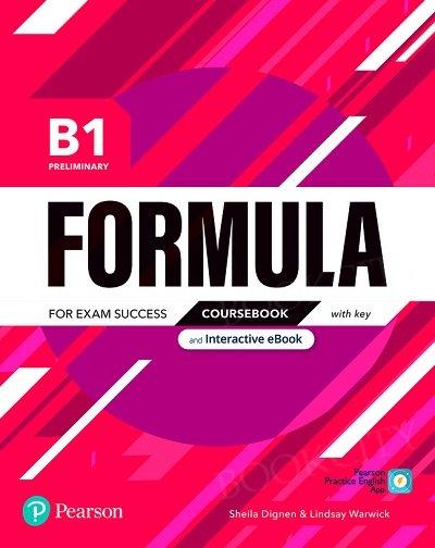 Formula B1 Preliminary Coursebook and Interactive eBook with key