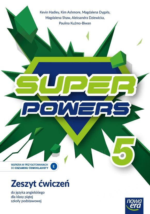 Super Powers klasa 5 Zeszyt ćwiczeń