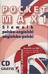 Pocket maxi. Słownik polsko-angielski i angielsko-polski książka + CD