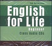 English for Life Beginner Class Audio CD
