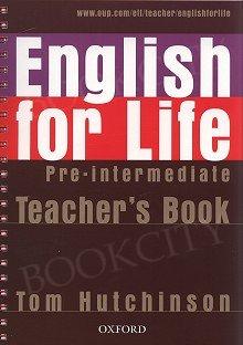 English for Life Pre-Intermediate Teacher's Pack
