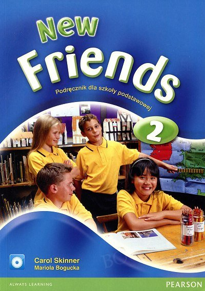New Friends 2 Student's Book plus CD-ROM