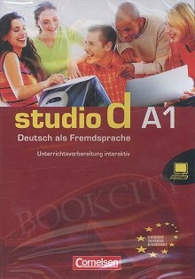 studio d A1 Unterrichtsvorbereitung interaktiv CD (interaktywny poradnik metod.)