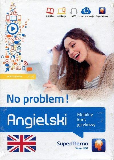 Angielski No problem! Mobilny kurs językowy - poziom podstawowy A1-A2 Książka + kod dostępu