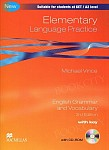 Elementary Language Practice - New Edition With Key