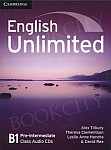 English Unlimited B1 Pre-intermediate Class Audio CDs (3)