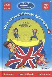 Uczę się angielskiego śpiewająco 2 (od 7 lat) Książka + CD audio