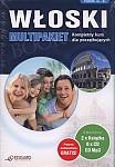 Włoski. Multipakiet 2 x Książka + 6 x CD Audio + MP3 z programem multimedialnym ze słownikiem