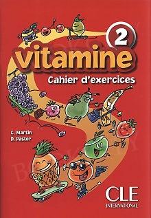 Vitamine 2 A1.2 Zeszyt ćwiczeń + płyta CD audio + portfolio