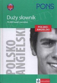 Duży słownik polsko-angielski oprawa twarda