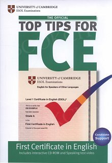 The Official Top Tips for FCE Book with CD-Rom