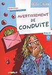 Avertissement de conduite Książka z płytą CD