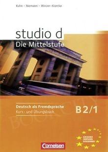studio d B2 Podręcznik z ćwiczeniami + CD