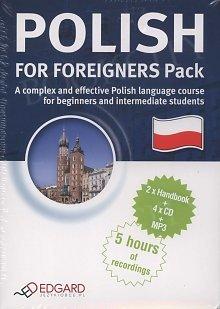 Polish for Foreigners Pack. Polski dla cudzoziemców - pakiet 2 x Książka + 4 x Audio CD + MP3