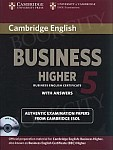 Cambridge English Business 5 Higher Self-study Pack (SB with ans and Audio CD)