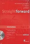 Straightforward 2nd ed. Intermediate książka nauczyciela