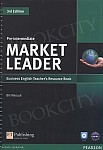 Market Leader 3rd Edition Pre-Intermediate Teacher's Resource Book with Test Master CD-ROM