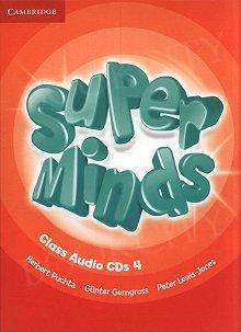Super Minds 4 Class Audio CDs (3)