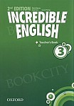 Incredible English 3 (2nd edition) książka nauczyciela