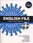 English File Pre-intermediate (3rd Edition) (2012) Workbook with iChecker (no key)