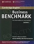 Business Benchmark Pre-intermediate 2nd edition Teacher's Resource Book BULATS and Business