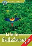 Life In Rainforests Book with Audio CD Pack