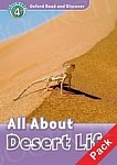 All About Desert Life Book with Audio CD Pack