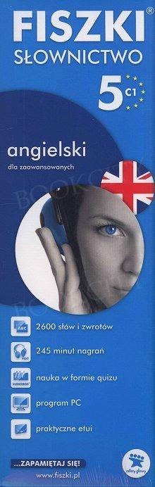 Fiszki Angielskie PREMIUM. Słownictwo 5 Fiszki + program + mp3 online