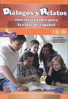 Diálogos y relatos Niveles A1 - A2 Podręcznik + CD