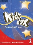 Kid's Box 2 (Updated 2nd Ed) Class Audio CDs (4)