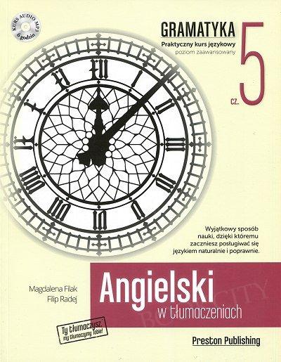 Angielski w tłumaczeniach. Gramatyka 5 Książka + CD mp3
